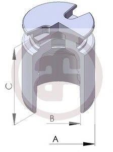 Поршень, корпус скобы тормоза AUTOFREN SEINSA D025102