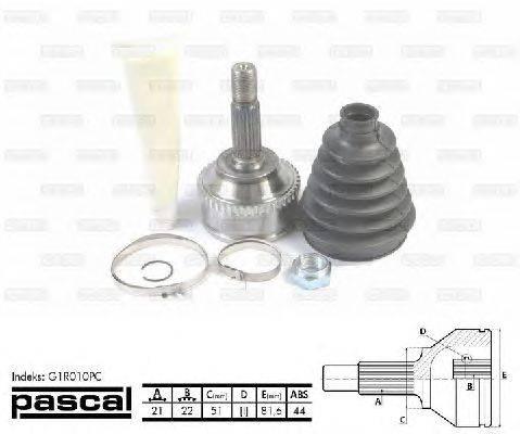 PASCAL (НОМЕР: G1R010PC) Шарнирный комплект, приводной вал