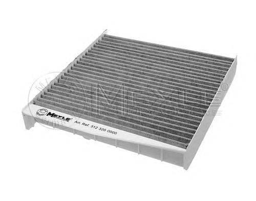 Фильтр, воздух во внутренном пространстве MEYLE 5123200000