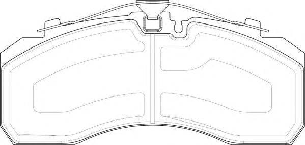 BERAL (НОМЕР: 2925330004145674) Комплект тормозных колодок, дисковый тормоз