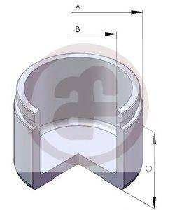 Поршень, корпус скобы тормоза AUTOFREN SEINSA D025101