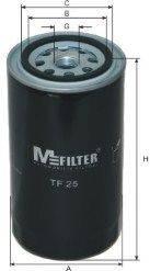 MFILTER (НОМЕР: TF 25) Масляный фильтр