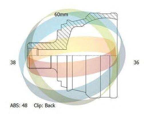Шарнирный комплект, приводной вал ODM-MULTIPARTS 12-011714
