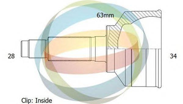 Шарнирный комплект, приводной вал ODM-MULTIPARTS 12-040805