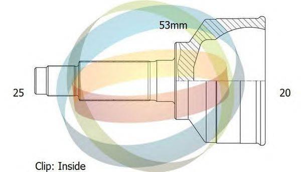 Шарнирный комплект, приводной вал ODM-MULTIPARTS 12-011466