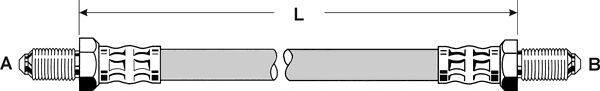 Тормозной шланг PEX 42.017
