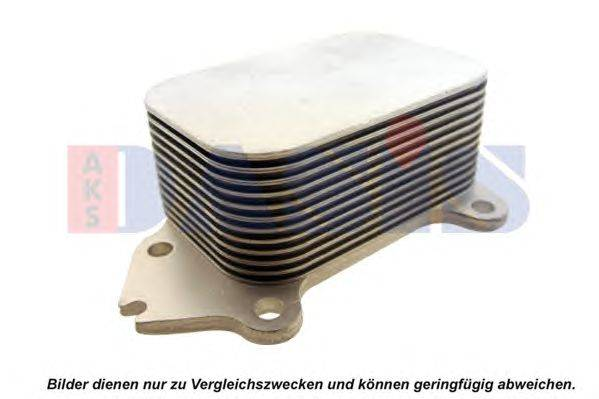 масляный радиатор, двигательное масло AKS DASIS 166007N