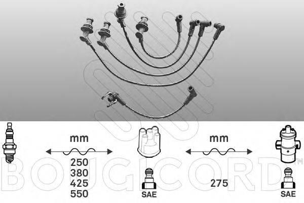 Комплект проводов зажигания BOUGICORD 1413