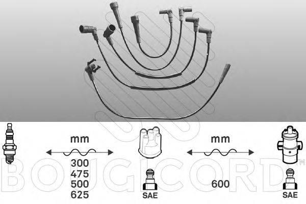 Комплект проводов зажигания BOUGICORD 1416