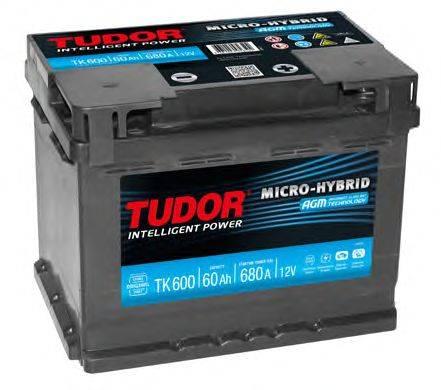 Стартерная аккумуляторная батарея; Стартерная аккумуляторная батарея TUDOR TK600