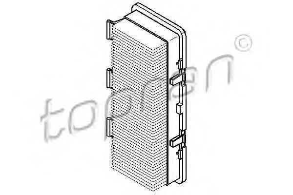 TOPRAN (НОМЕР: 700 247) Воздушный фильтр