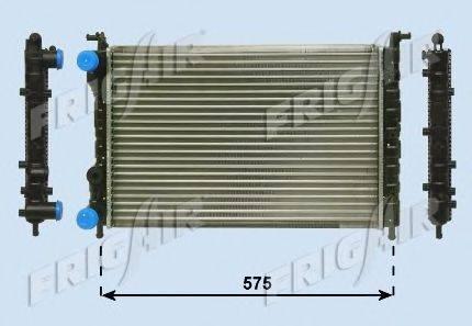 Радиатор, охлаждение двигателя FRIGAIR 0104.3063