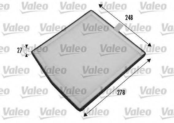Фильтр, воздух во внутренном пространстве VALEO 698771