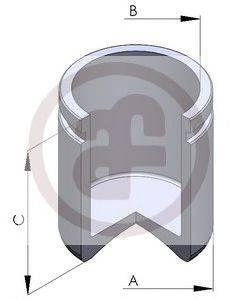 Поршень, корпус скобы тормоза AUTOFREN SEINSA D025104