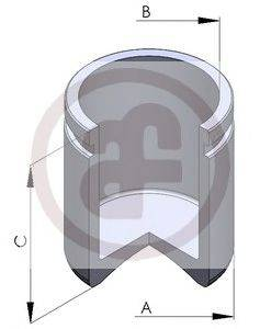Поршень, корпус скобы тормоза AUTOFREN SEINSA D025129