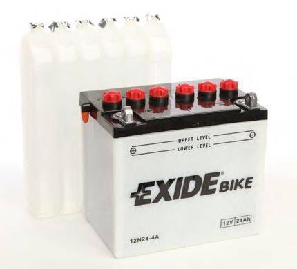 Стартерная аккумуляторная батарея EXIDE 12N24-4A