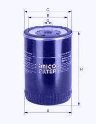 Топливный фильтр UNICO FILTER FI 898/1