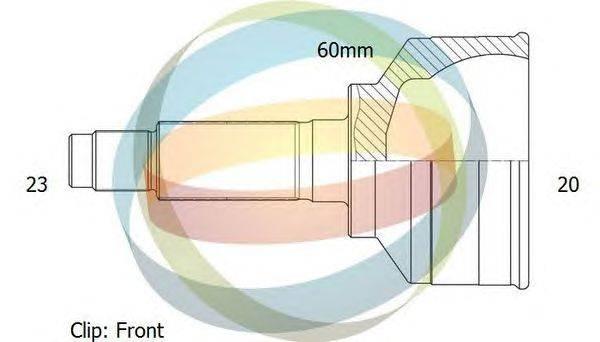 Шарнирный комплект, приводной вал ODM-MULTIPARTS 12-011619