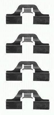 Комплектующие, колодки дискового тормоза MINTEX MBA1211