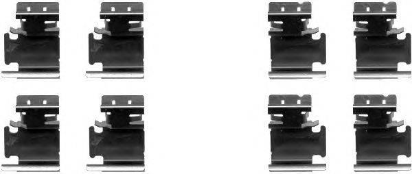 Комплектующие, колодки дискового тормоза MINTEX MBA1298
