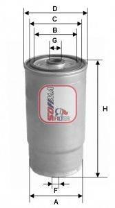 SOFIMA (НОМЕР: S 1379 NR) Топливный фильтр
