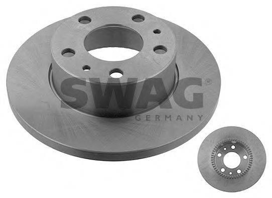Тормозной диск SWAG 53 92 9160