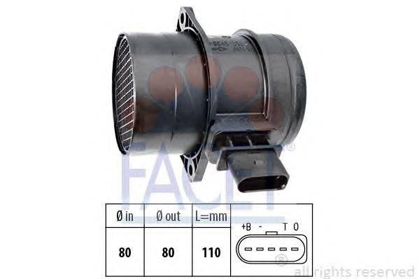Расходомер воздуха FACET 101357