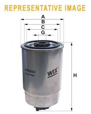 Топливный фильтр WIX FILTERS WF8179