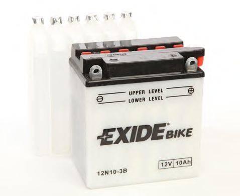 Стартерная аккумуляторная батарея EXIDE 12N10-3B