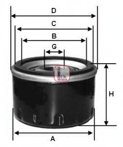 SOFIMA (НОМЕР: S 1270 R) Масляный фильтр