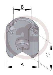 Поршень, корпус скобы тормоза AUTOFREN SEINSA D025118