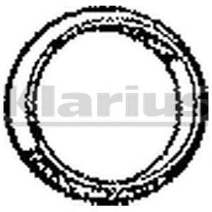 Прокладка, труба выхлопного газа KLARIUS 410307