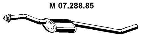 Средний глушитель выхлопных газов EBERSPÄCHER 07.288.85