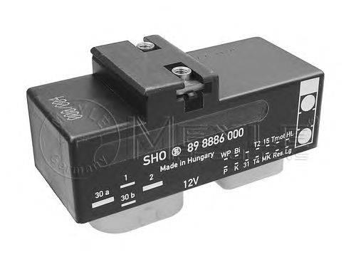 Блок управления, эл. вентилятор (охлаждение двигателя) MEYLE 1008800020