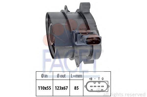 Расходомер воздуха FACET 10.1005