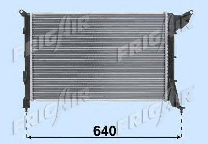 Радиатор, охлаждение двигателя FRIGAIR 0102.3123
