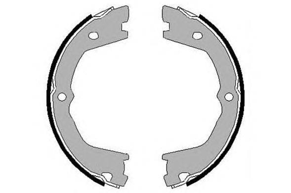 Комплект тормозных колодок RAICAM 2925