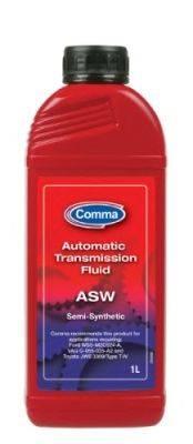 Трансмиссионное масло; Масло автоматической коробки передач COMMA ASW1L