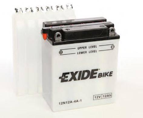 Стартерная аккумуляторная батарея EXIDE 12N12A-4A-1