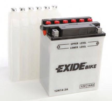 Стартерная аккумуляторная батарея EXIDE 12N14-3A