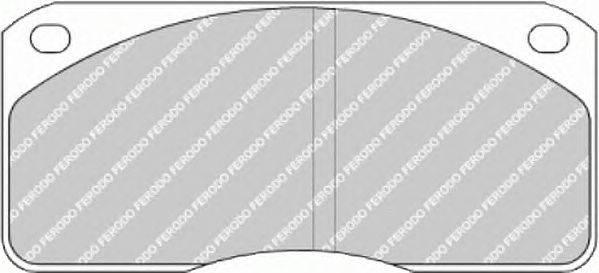 FERODO (НОМЕР: FCV523) Комплект тормозных колодок, дисковый тормоз