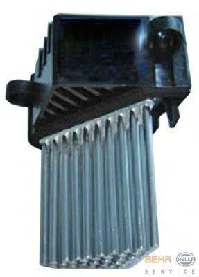 Регулятор, вентилятор салона BEHR HELLA SERVICE 5HL 351 321-511