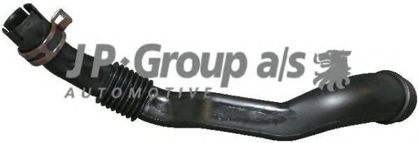 Шланг, вентиляция картера JP GROUP 1111152400