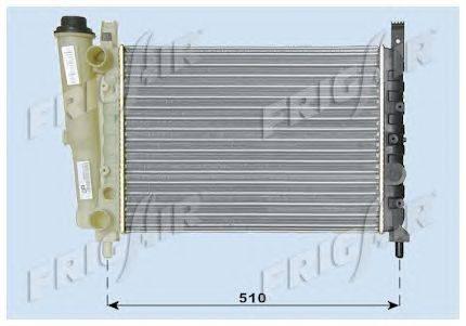Радиатор, охлаждение двигателя FRIGAIR 0104.3016