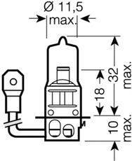 Лампа накаливания, фара дальнего света; Лампа накаливания, основная фара; Лампа накаливания, противотуманная фара; Лампа накаливания, основная фара; Лампа накаливания, фара дальнего света; Лампа накаливания, противотуманная фара; Лампа накаливания, фара с авт. системой стабилизации; Лампа накаливания, фара с авт. системой стабилизации OSRAM 64151NBU