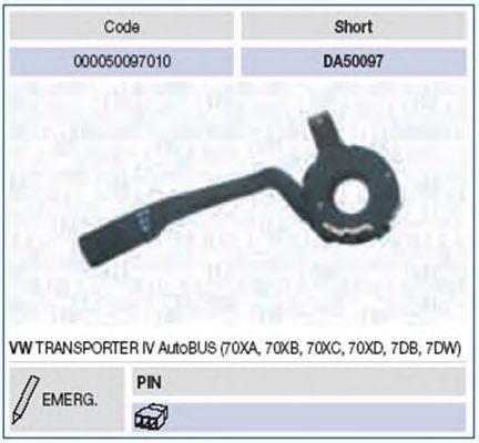 Выключатель на колонке рулевого управления MAGNETI MARELLI 000050097010