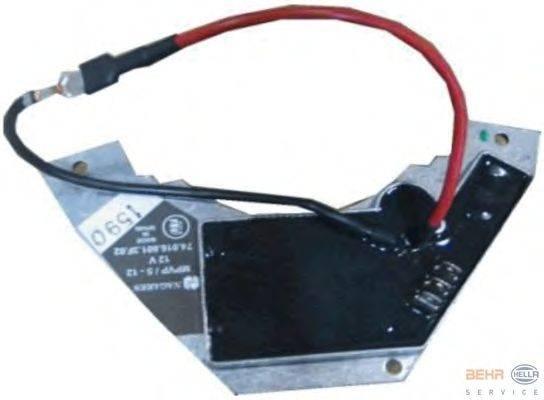 BEHR HELLA SERVICE (НОМЕР: 5HL 351 321-121) Регулятор, вентилятор салона