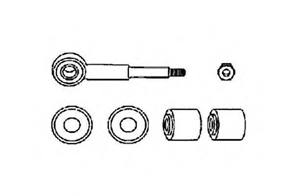 Ремкомплект, соединительная тяга стабилизатора OCAP 0181142-K
