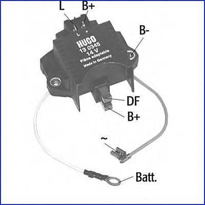 Регулятор генератора HÜCO 130345