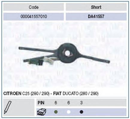 Выключатель на колонке рулевого управления MAGNETI MARELLI 000041557010